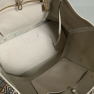 Michael Kors Bags - Michael Kors Jet Set Ivory Large Travel Bag